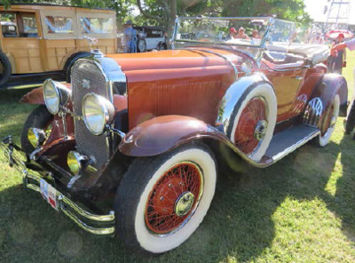 29-44X - Owned by G & L Henderson in New Zealand.  Photo taken at the 2016 Art Deco Rally in Napier, NZ,  Feb. 2016