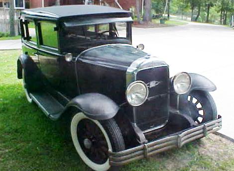 29-27 - 4 dr. sedan.  For sale on eBay May 2011