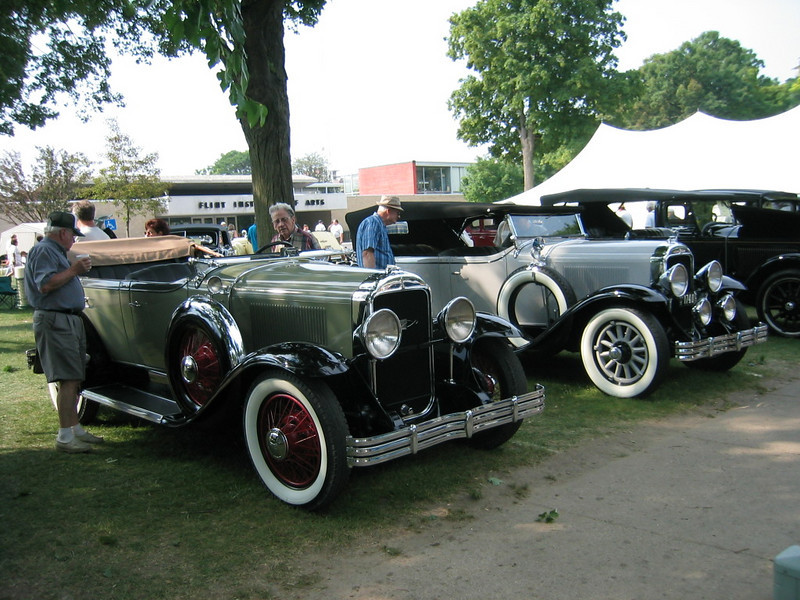 29 Buicks at Buick's 100th Anniversary - Flint 2003.