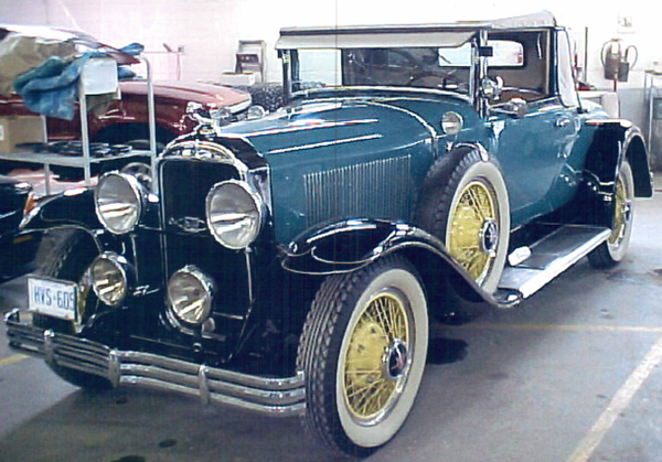 29-54CC McLaughlin Buick - Now in The Netherlands