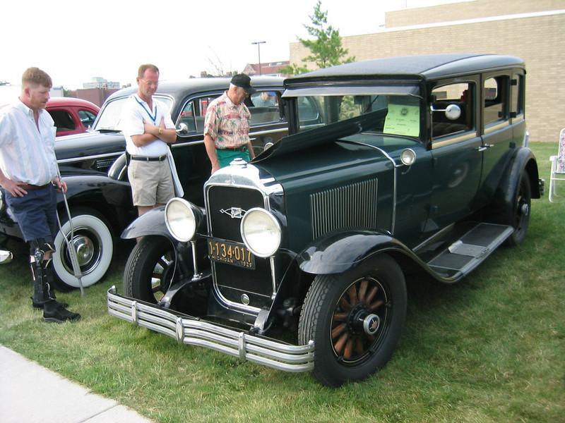 29 Buicks at Buick's 100th Anniversary - Flint 2003.