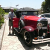 29-24 - owned by John Gerdtz here being inspected by Richard Coulombe, owner of a model 29-44, of St Bruno, QC, Canada