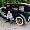 29-50 - Owned by M. Robinson, NY. Former owner saying goodbye to his car after 40 years)