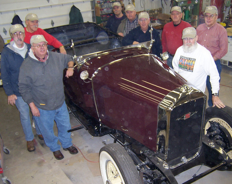 29-55X - Owned by Don Mayton - with his Tuesday restoration group  (Dec. 22/09).