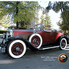 29-44 McLaughlin Buick roadster - owned by Bill McLaughlin, Toronto, Canada  (Amador Amores of Marbella, Spain, who also owns a 29-44, is the passenger)