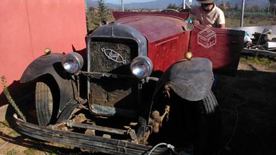 29-44 or 49 or 55 ?  Owned by Pedro Becerra in Chile (Lots of parts to find and restoration work to do.)
