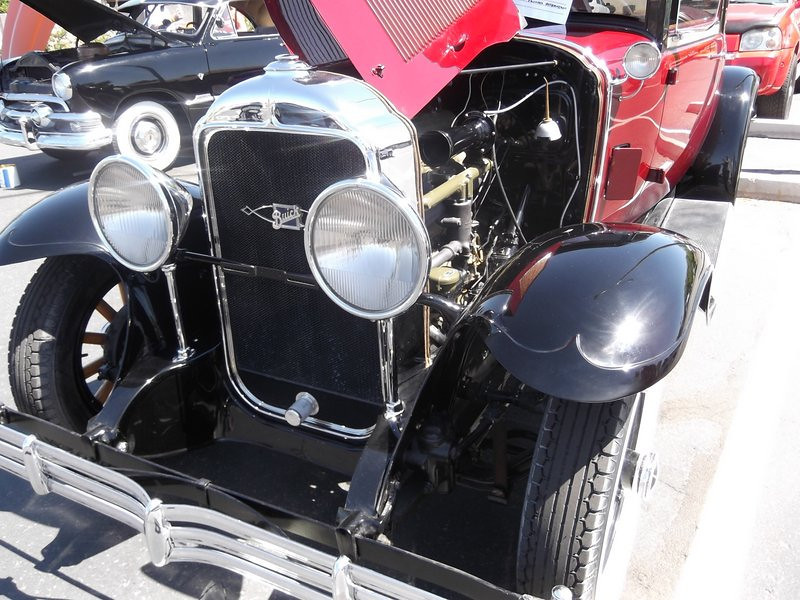 29-26S owned by Gary Hertzler at first car show after restoration - April 2012