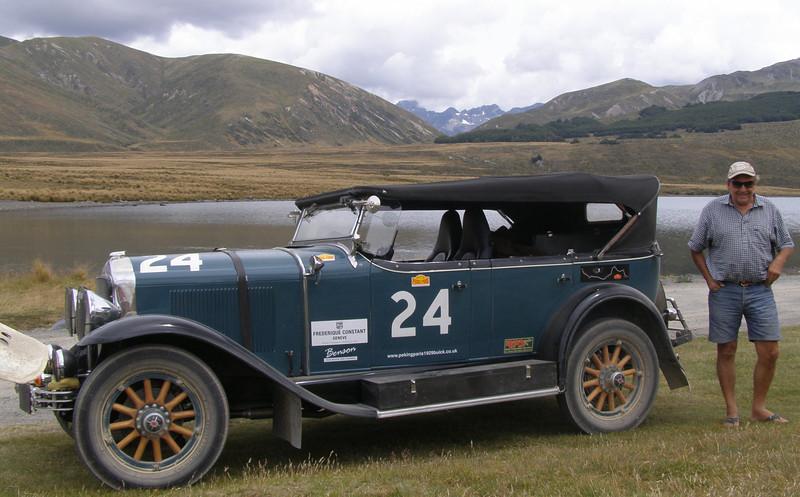 29-25 - Benson with owner Jock Burridge, at Lake Tennyson, New Zealand (Feb. 2012)