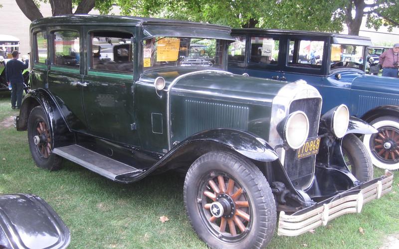 "29-47 - Owned by Dan Bowers (original car).  At ""Golden Memories"" car show at the Sloan Museum on Sept 18 / 11"