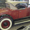 29-44 McLaughlin Buick.  Restoration to match original pain on hood (and rumble seat) after carb fire.  Top was also replaced.