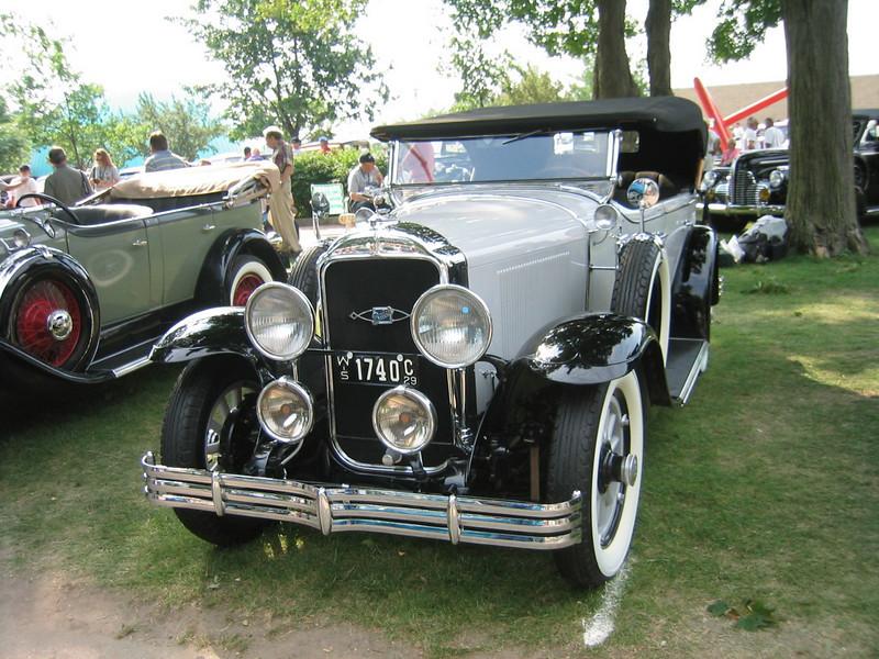 29-25 - Buicks at Buick's 100th Anniversary - Flint 2003.