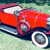 29-44 - Owned by G. Jones of LA, USA.  Car has Pilot Ray lights,  Woodlite headlights & running board spotlight,  Lalique radiator cap,  Dayton  wheels,  stone guards, metal side-mount covers, Rocket Man mirrors and chrome external horns.