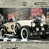 Jan van Gemert in his 1929 Buick model 29-44 roadster at thew starting line of the 2011 Italian Mille Miglia, in Brescia Italy