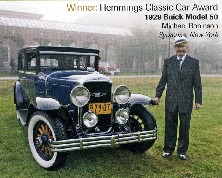 29-50 - owned by Michael Robinson.  Winner Hemmings Classic Car Award - 2013