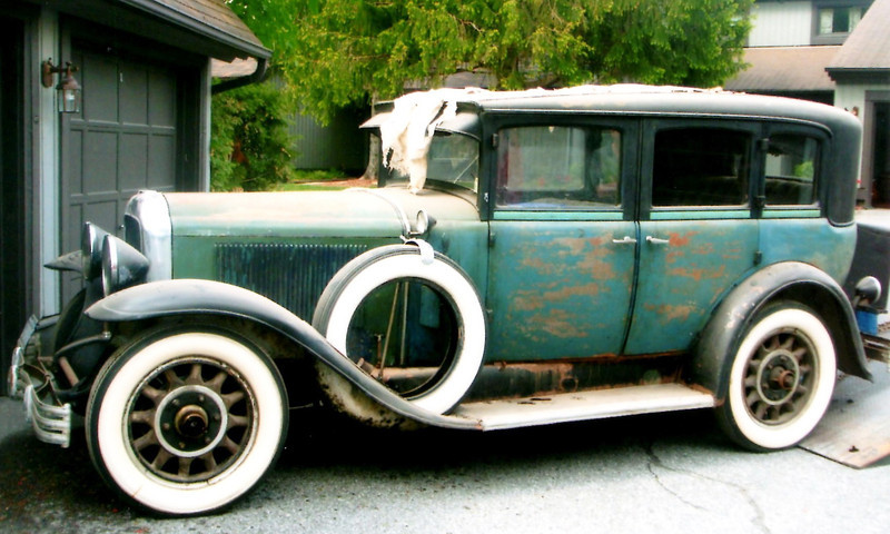 29-47 McLaughlin Buick - Owned by Bert Donnelly (as received, prior to restoration)