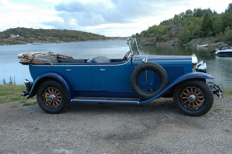 29-49 - Owned by Staffan Karlsson, Sweden (was King Gustaf of Sweden's 29 Buick touring car)