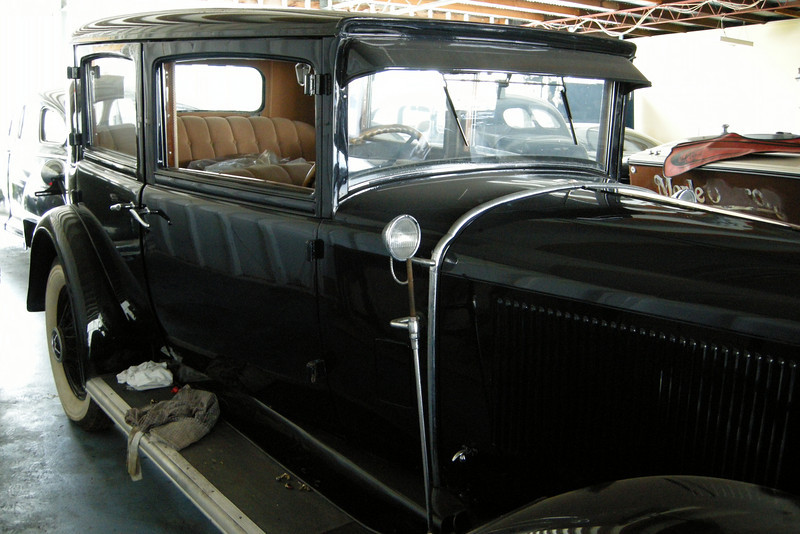 29-51X Five Passenger Four Door Close-coupled (Sport) Sedan - owned by Greg Wragg
