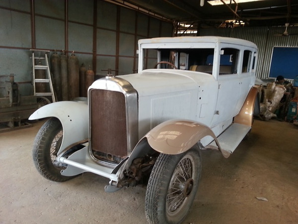 29-50LX, in India - under Restoration (car once owned by the then Nawab of Balasinor)
