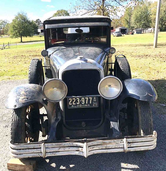 29-27 For Sale on eBay.  Nov. 2020.  Car was in the movie the Verne Miller story.  Car was machine gunned. Right side of car still has the machine gun holes (fake of course).