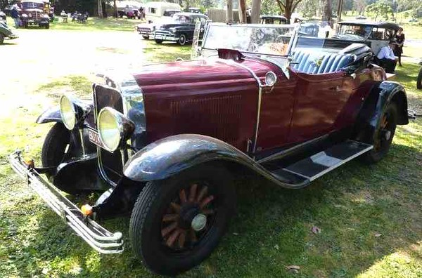 29-24 roadster belonging to Dave Evans of South Australia
