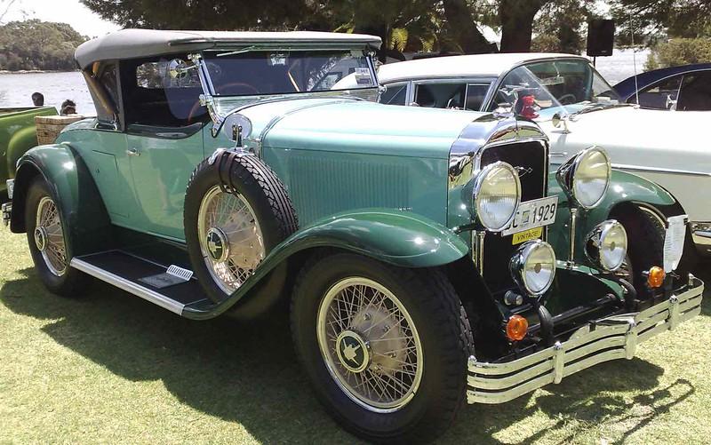 29-44X - Restored by the late Paul Dixon in Perth, Australia.