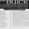 USA Production Numbers / Selected Specs (from The Buick A Complete History, 90th Anniv. Edition (4th edition, 1992)