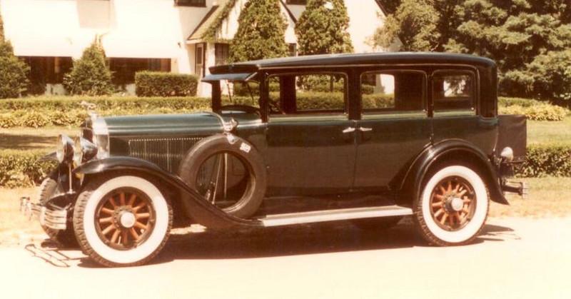 "29-50 (129"" series) - Seven passenger four door Sedan"