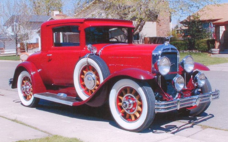 """29-26 (116"""" series) - Two passenger Business Coupe"""