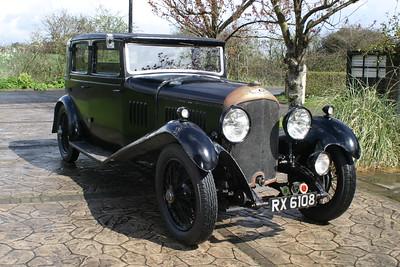 1929 bentley four & a half litre PB3527