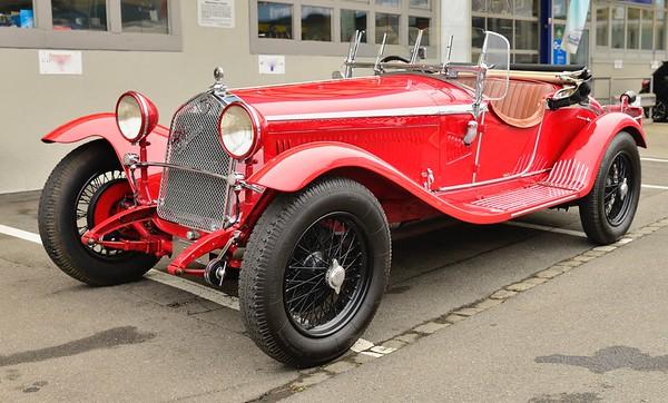 1930 Alfa 6c GRAN SPORT Zagato Spider