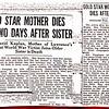 1930 Bessie Vineglass & sister Annie Kaplan Obituary