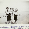 1936 Barney and Elizabeth Segal with grandkids