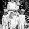 l-r, Kay, Bernie, Dotty, Nanny with Cece, East Northport, NY