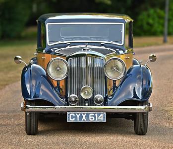 1936 Derby Bentley CYX614