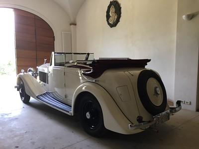 1936 Rolls Royce 25/30 Pass & Joyce