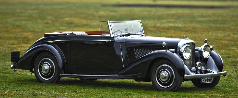 1937 Derby Bentley 4 1/4 Drophead Coupe, H J Mulliner CVB 702