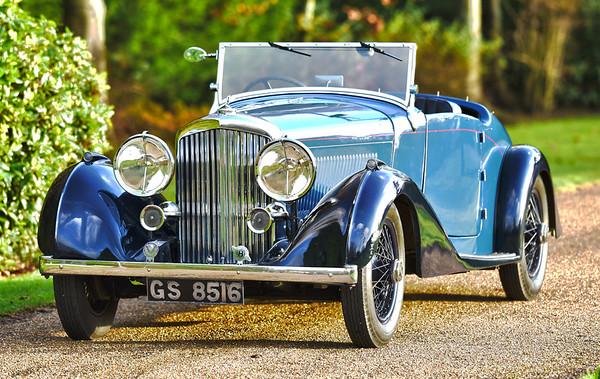 1937 Derby Bentley MR Overdrive Series
