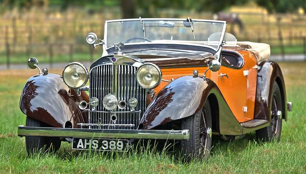 1937 Jensen S-Type V8 Dual Cowl Phateon Tourer AHS 389