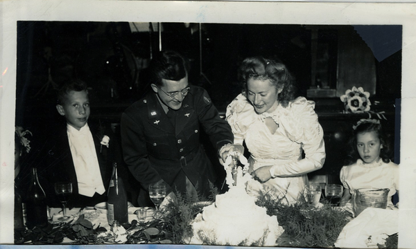 1945 10 Jack  Segal's Wedding