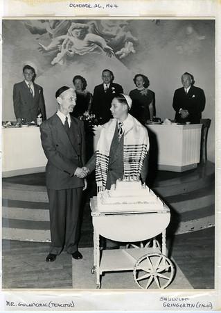 1947 10 Edward Weiner's Bar Mitzvah