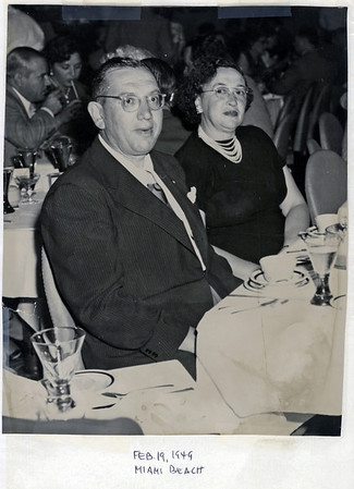 1949 02 Al Weiner's Miami FL Trip