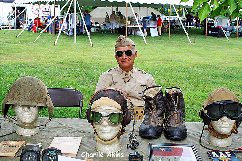 These vintage Army helmets are interesting.