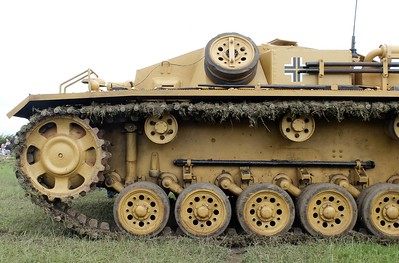 Sd. Kfz. 142  StuG Ausf. D at THE YORKSHIRE WARTIME EXPERIENCE, 9th-10th July 2016