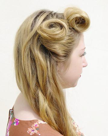 ALEX'S 1940s HAIR DRESSING EXAM