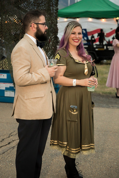 1940's WWII ball
