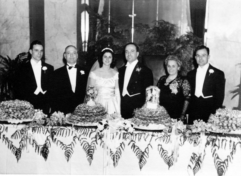 Uncle Gaetano and Aunt Marie's Wedding -  March 1947