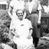 l-r Aunt Agnes, Grandma, Nanny, Aug. 26, 1947, East Elmhurst, NY