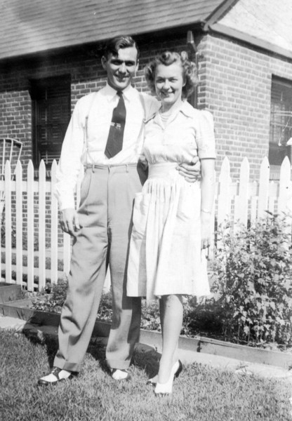 Mom's cousin, Patrick Carey with wife Emily