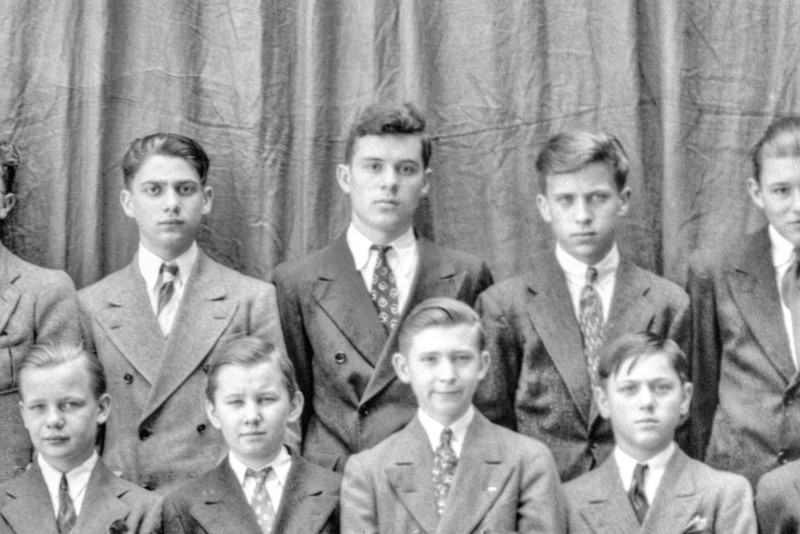 Dad PS 82 Manhattan - June 1940