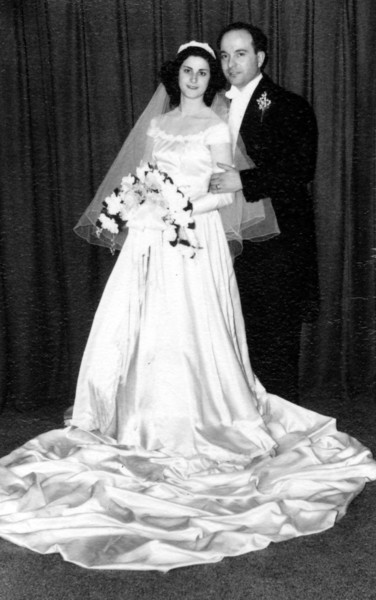 Aunt Marie & Uncle Gaetano - April 1947